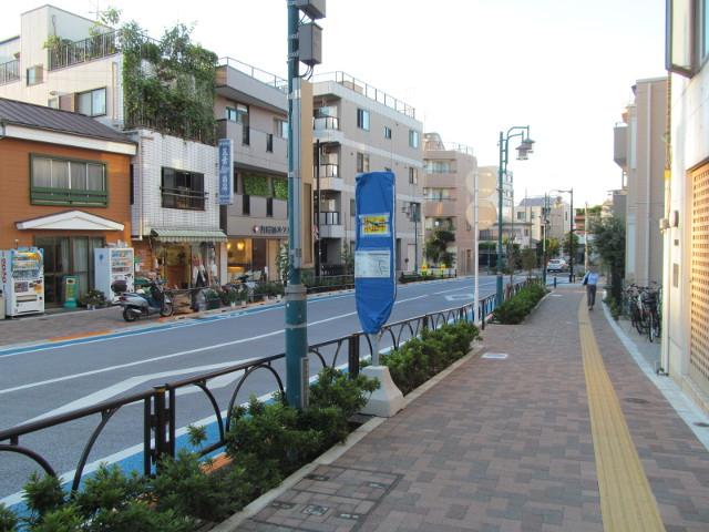 世田谷駅前バス停等々力方面20150902その3