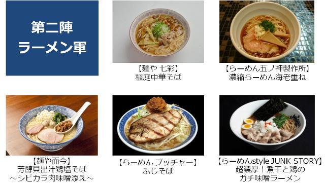 大つけ麺博2015第二陣ラーメン
