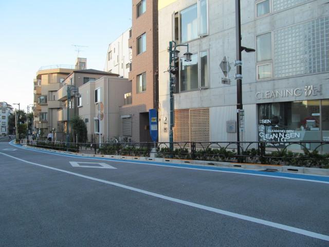 世田谷駅前バス停等々力方面20150902