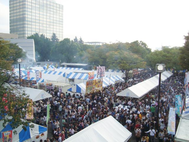 北海道フェアin代々木開催された様子20150909