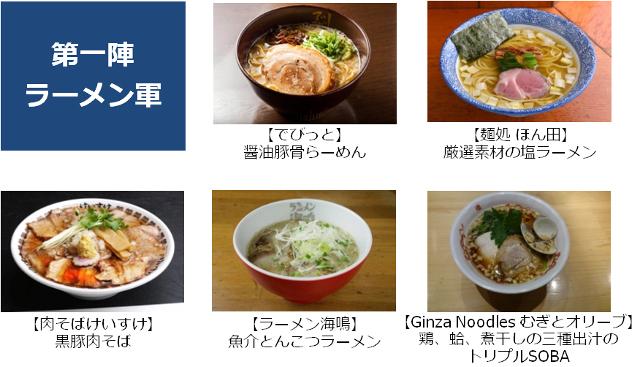 大つけ麺博2015第一陣ラーメン