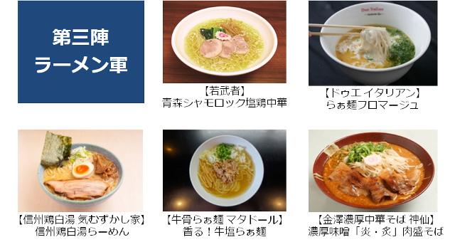 大つけ麺博2015第3陣ラーメン