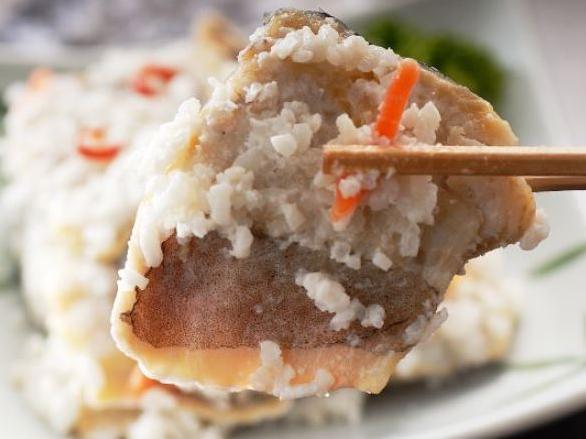 オオカネホン竹本水産ホッケの飯寿司