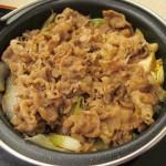 吉野家牛すき鍋膳大盛賞味サムネイル