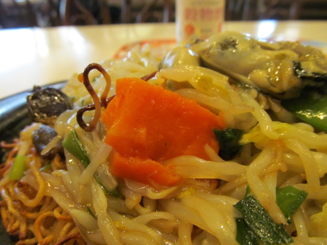 ガスト広島産牡蠣のあんかけ焼きそばのにんじん