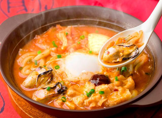 ガスト広島産牡蠣の辛口チゲ