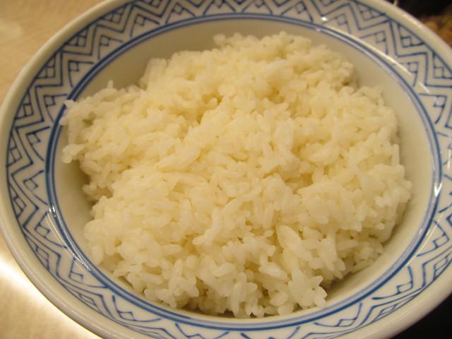 吉野家牛すき鍋膳の大盛ライス