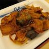松屋豚と茄子の辛味噌炒め定食大盛サムネイル