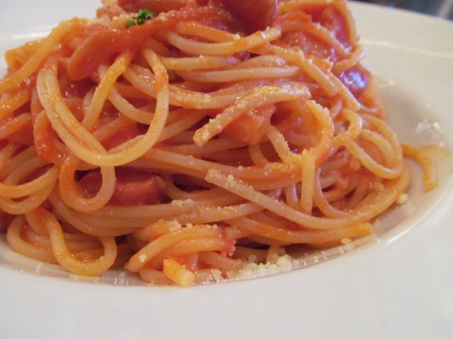 INASEYAMAREアマトリッチャーナのスパゲッティ