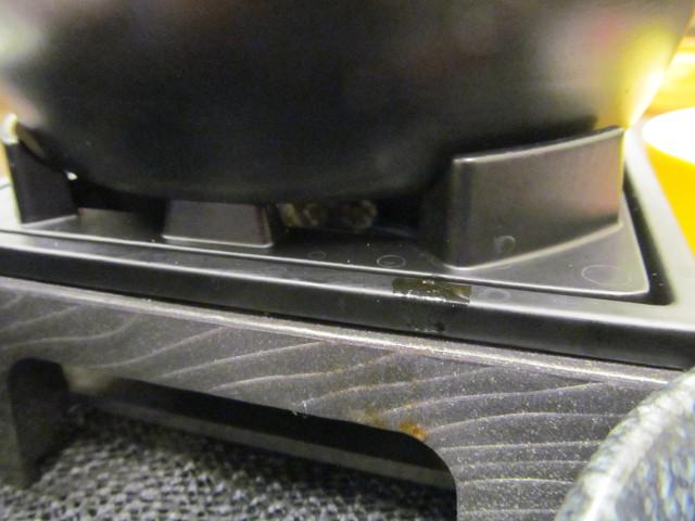 なか卯鶏担々鍋膳の鍋の下のメラメラが消える