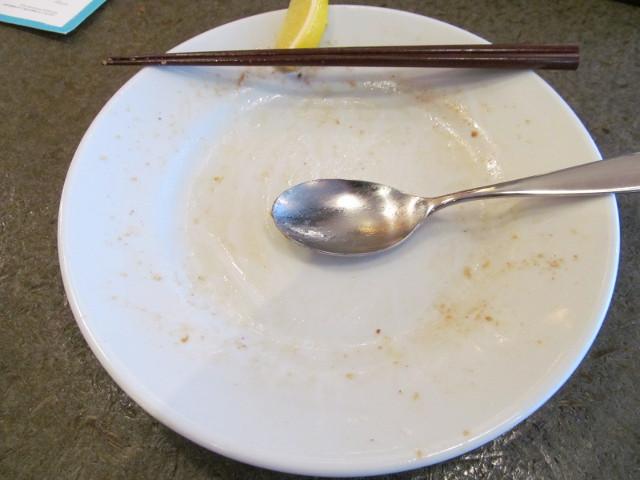 イナセヤマーレ地魚たっぷり炙り飯を完食