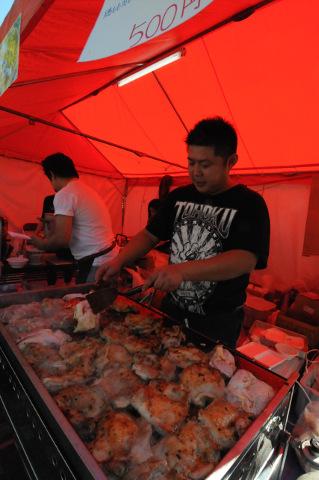 ミャンマー祭り2015飲食店ブース