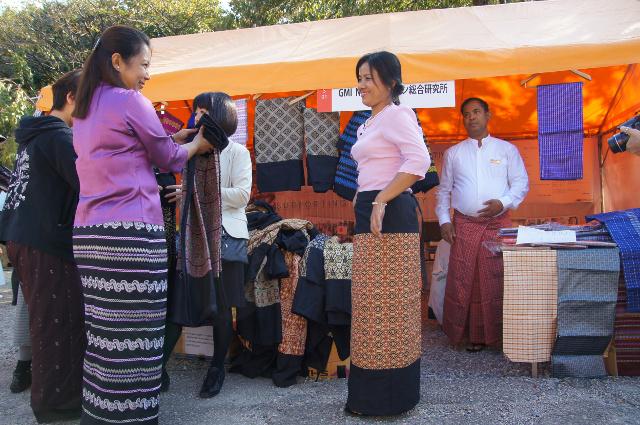 ミャンマー祭り2015衣装レンタル