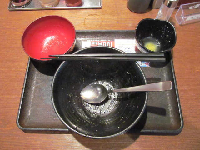 伝説のすた丼屋ホルすた丼飯増量を完食完飲