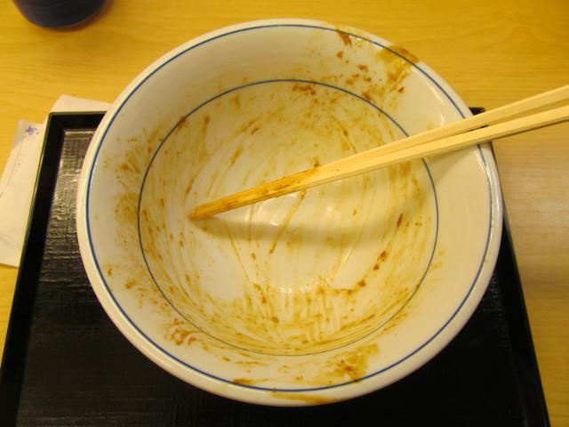 かつやねぎ味噌カツ丼大盛を完食