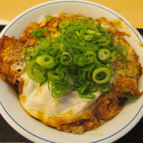 かつやねぎ味噌カツ丼大盛賞味サムネイル