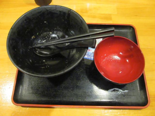 伝説のすた丼屋和風みすじステーキ丼飯増しを完食完飲