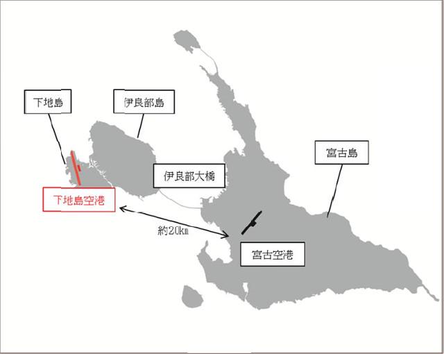 下地島空港地図640