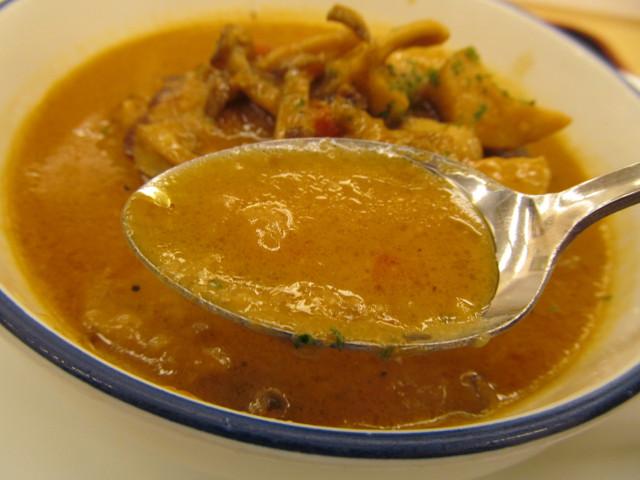 松屋シャンピニオンソースハンバーグ定食のソース