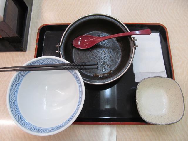 吉野家トマト牛鍋膳を完食