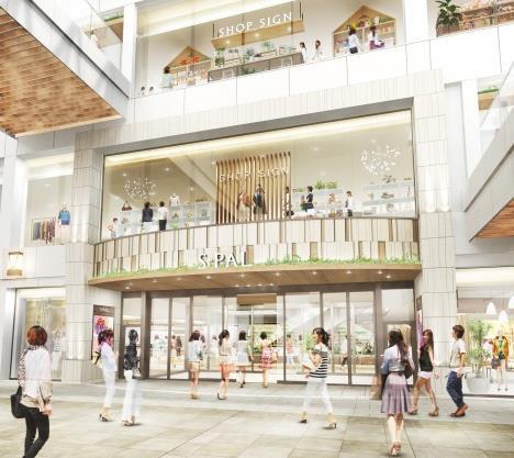 エスパル仙台東館2階エントランスイメージ