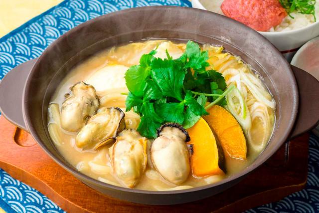 ガストの冬鍋2016広島産牡蠣の味噌ちゃんこ鍋