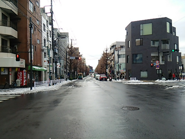 世田谷駅前交差点から上町方向20160118
