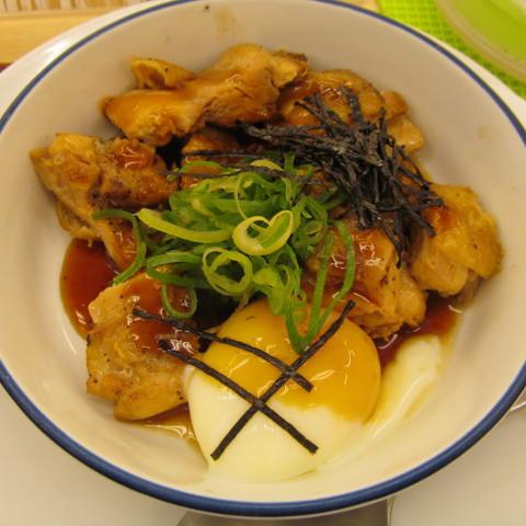 松屋てりたまチキン定食ライス大盛無料賞味サムネイル