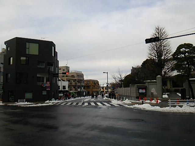 世田谷駅前交差点から世田谷駅方向20160118
