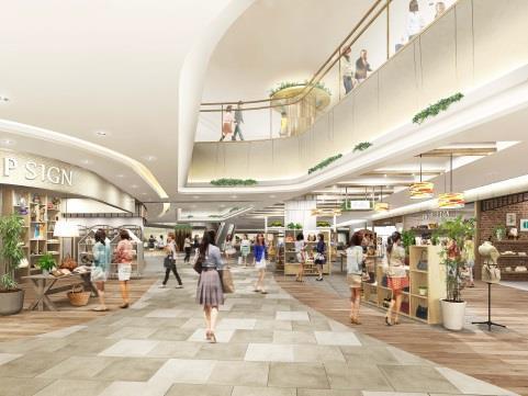 エスパル仙台東館2階物販ゾーン