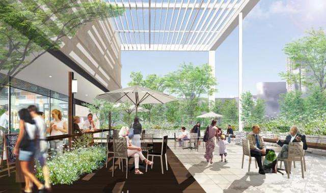 アトレ恵比寿西館屋上ガーデンテラスイメージ