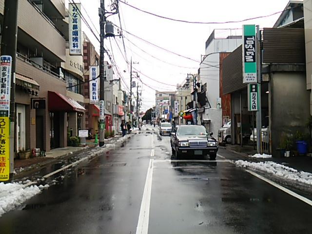 世田谷駅前交差点から駒沢方向20160118