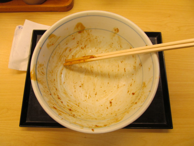 かつやデミグラスメンチカツ丼大盛を完食