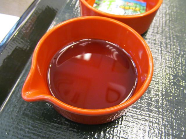 なか卯サーモン丼の特製醤油