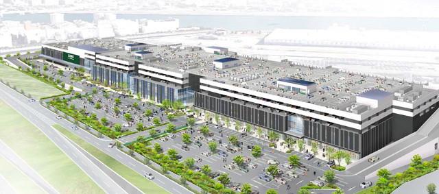 広島西部SCプロジェクト完成予想イメージ
