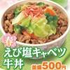 すき家春のえび塩キャベツ牛丼販売開始サムネイル