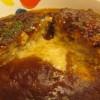 松屋とろーりチーズが入ったデミたまハンバーグ定食賞味サムネイル