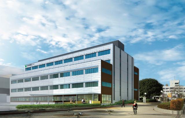 仙台泉中央駅前の病院棟イメージ