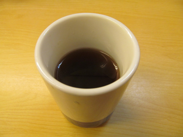 かつやのお茶20160219