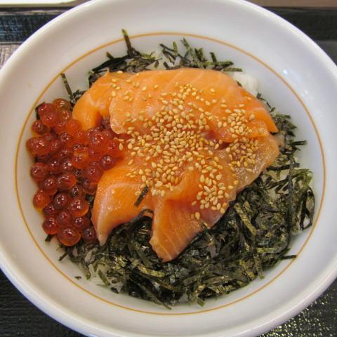 なか卯サーモン丼賞味サムネイル