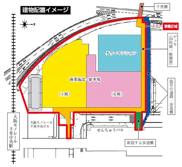 SENRITOよみうり建物配置イメージ