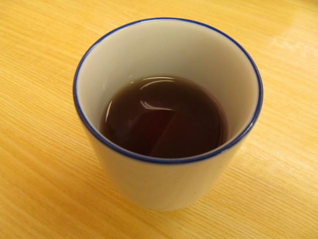 松屋のお茶で一服20160222