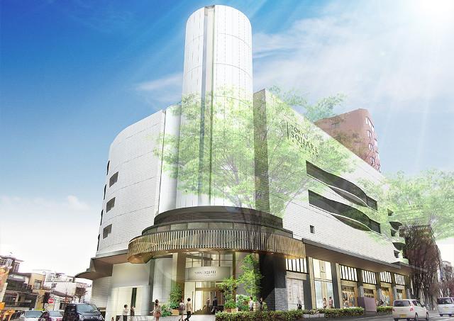 香林坊東急スクエア外観イメージ