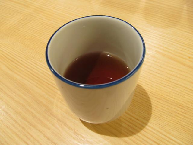 松屋のお茶で一服20160310の1杯目