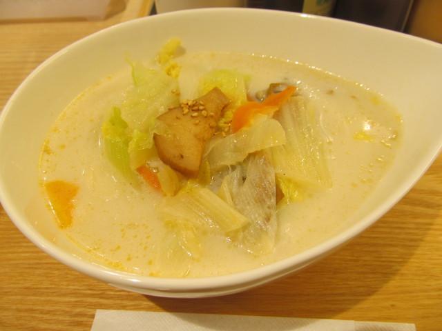 松屋冬野菜ときのこの豆乳だしスープごはん