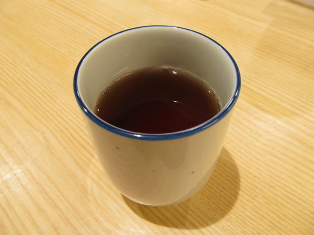 松屋のお茶で一服20160310_2杯目