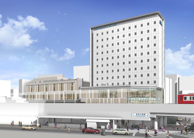 京急川崎駅前ビル外観イメージ