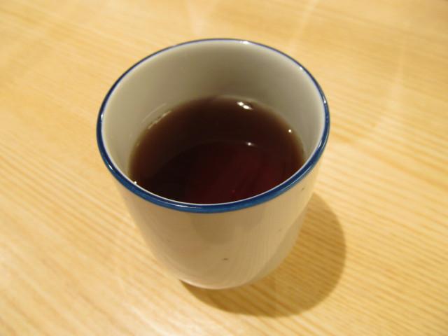 松屋のお茶で一服20160310_3杯目