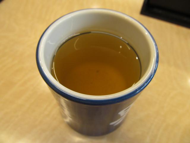 吉野家のお茶で一服20160303