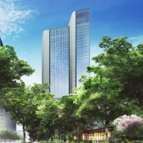 赤坂インターシティAIR2017年8月竣工予定サムネイル